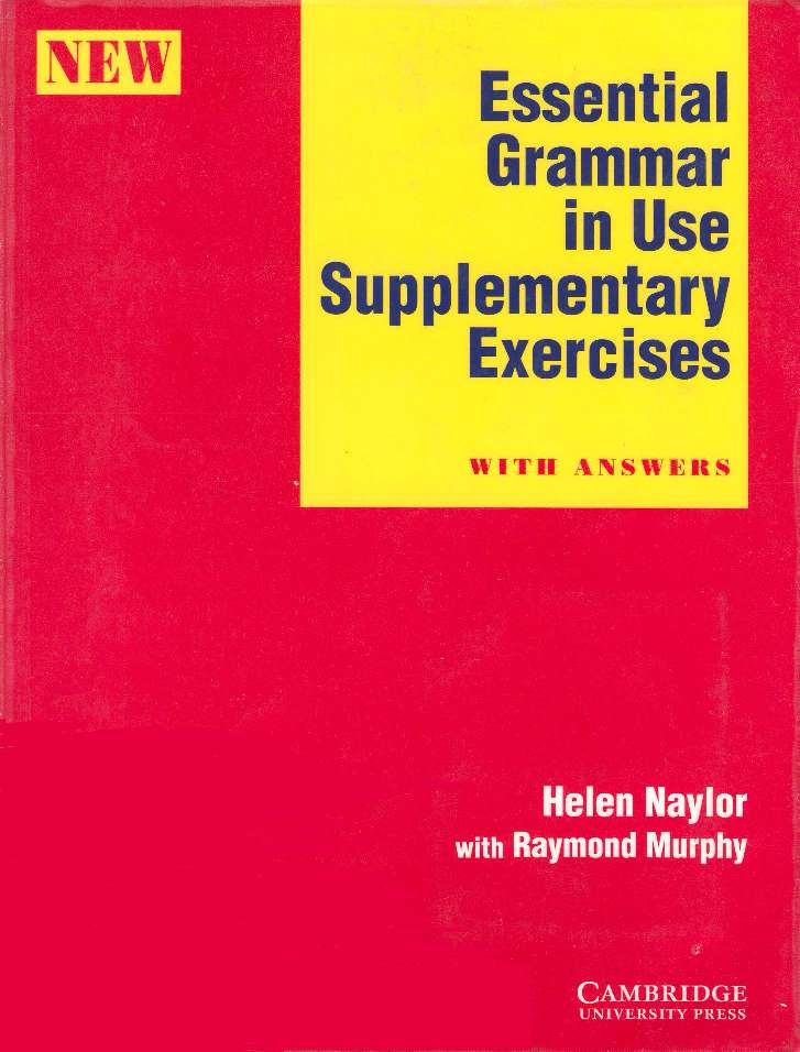 Essential Grammar In Use Supplementary Exercises-COVER