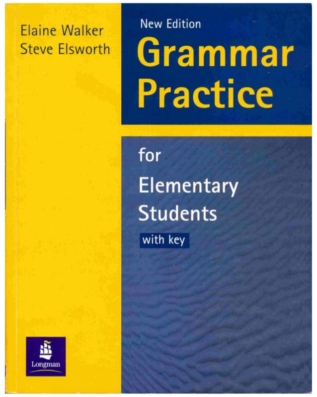 Grammar Practice For Elementary Students-COVER