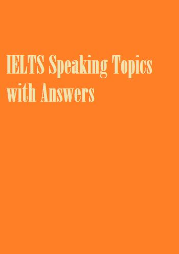 IELTS Speaking Topics with Answers-COVER