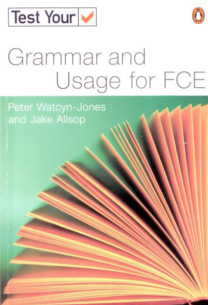 Test Your Grammar And Usage For FCE-COVER