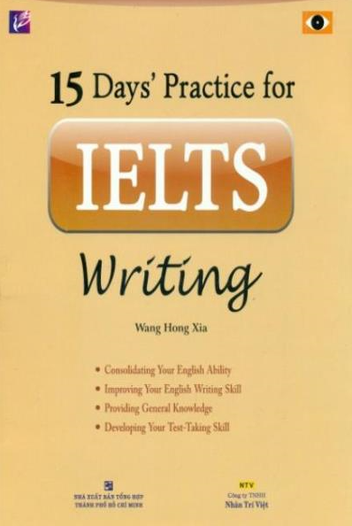 15 Days Practice for IELTS Writing - Cover