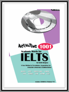 Activating 1001 Academic Words for IELTS - Cover