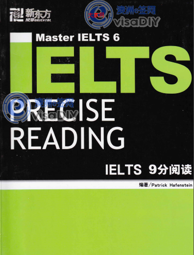 IELTS 9 - Precise Reading - Cover