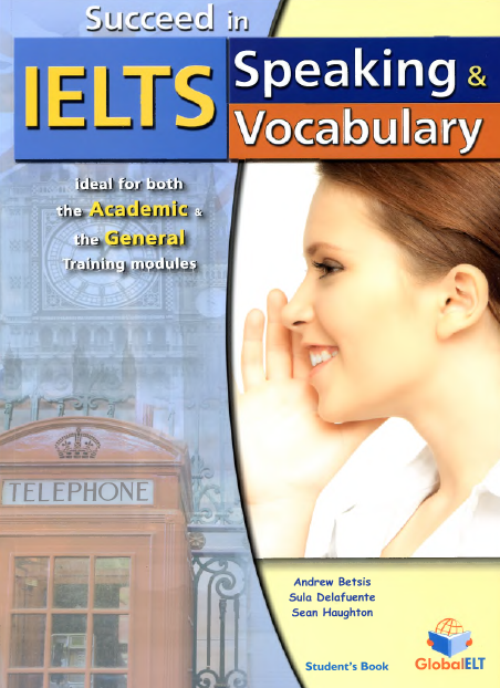 Succeed in IELTS Speaking and Vocabulary - Cover